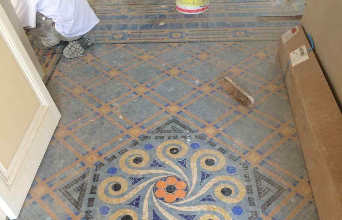 Mosaïque réalisé par Luco & Bataller à Saint-Malo