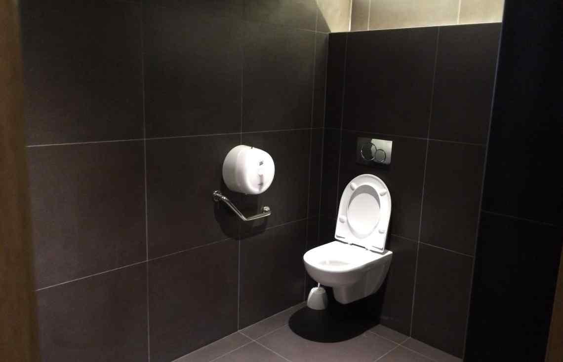 Carrelage Faïence Toilettes réalisé par Luco & Bataller à Rennes